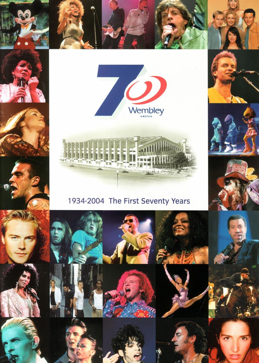 Wembley Arena 70 book