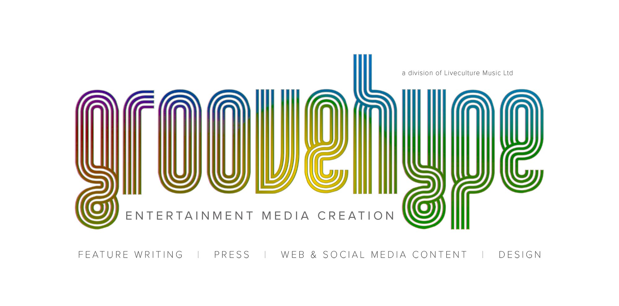 Groovehype - Feature writing, Press, Web and Social Media content, Design