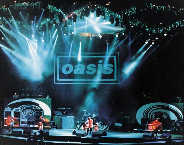oasis knebworth - 1996